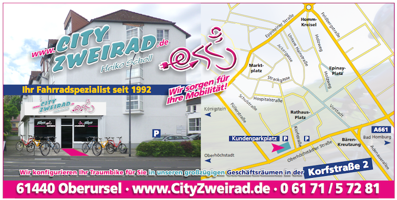 City Zweirad in der Korfstrasse 2